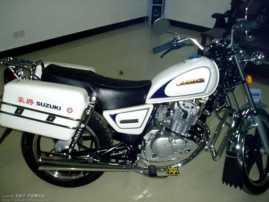 豪爵铃木-骑式车