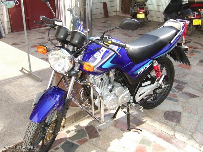 济南铃木摩托车专区 铃木gsx125 3f骑行记
