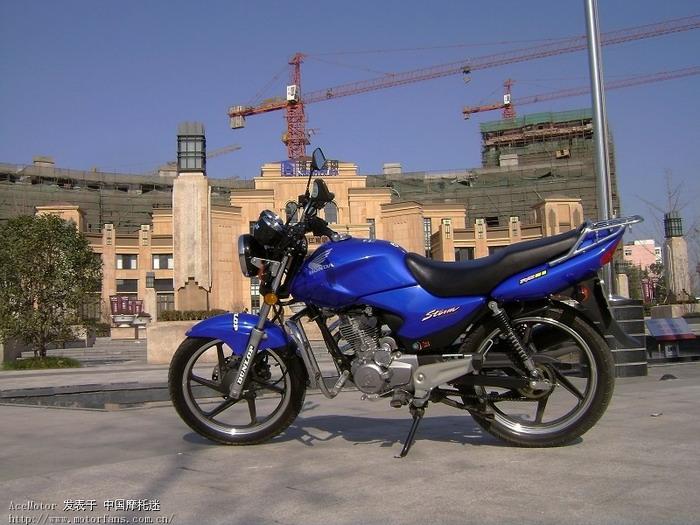 摩托车论坛 新大洲本田-骑式车讨论专区 03 《新本锐箭sdh125-46b