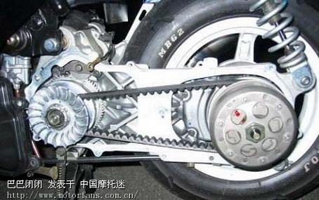 踏板车基础知识之--普利珠与普利盘篇