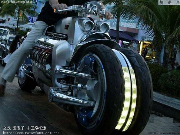 世界上最快摩托 战斧 美国道奇高清图片