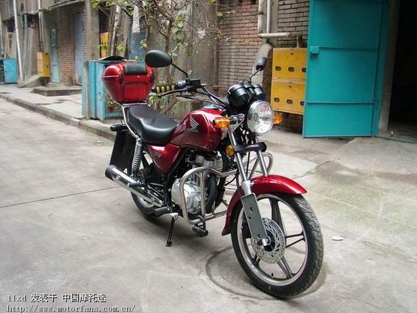 五羊本田-统御 - 摩托车论坛 - 中国第一; 我的枣红马,统御wh125-7