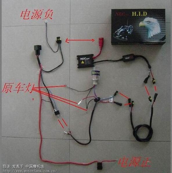 安装效果与安装接线图