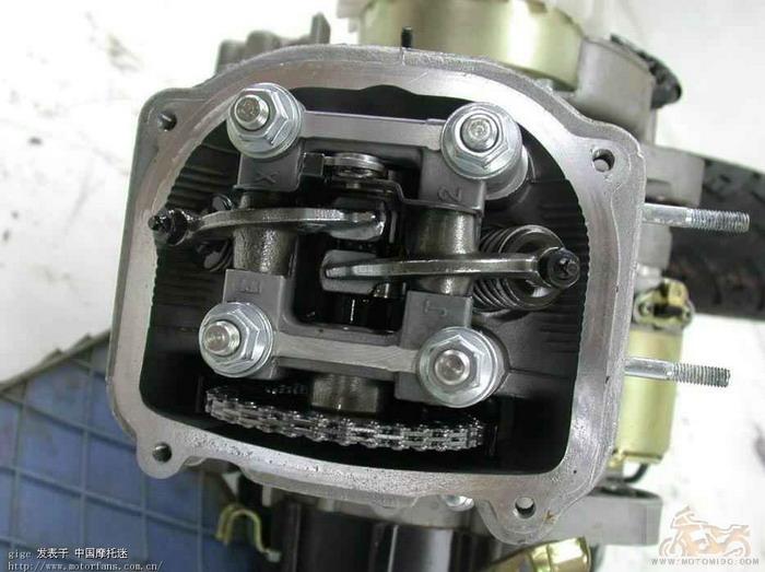 gy6发动机构造图解;