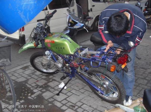小车摩托电路图