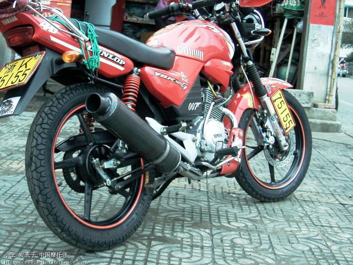 后避震又改颜色了, - 雅马哈 - 摩托车论坛 - 中国