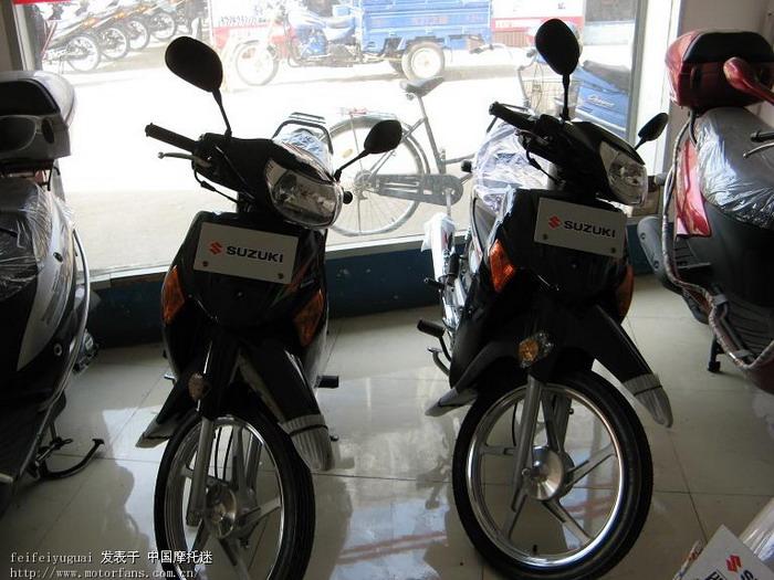 我的qs110超级赛驰~~!(图) - 济南铃木 - 摩托车论坛