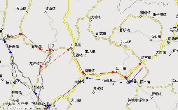 广东省始兴县地图