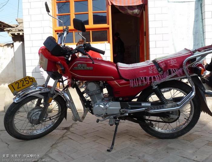 嘉陵摩托车专区 我的03年的嘉陵125
