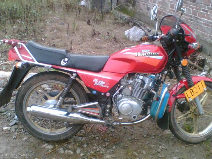 我的豪爵125-7摩托车