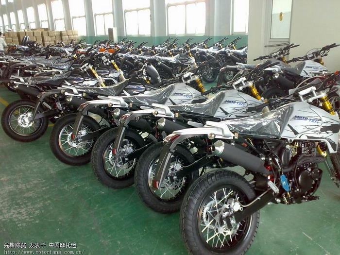 摩托车论坛 激情越野 03 双启动的 济南先锋xf200gy藏獒三代出口版.