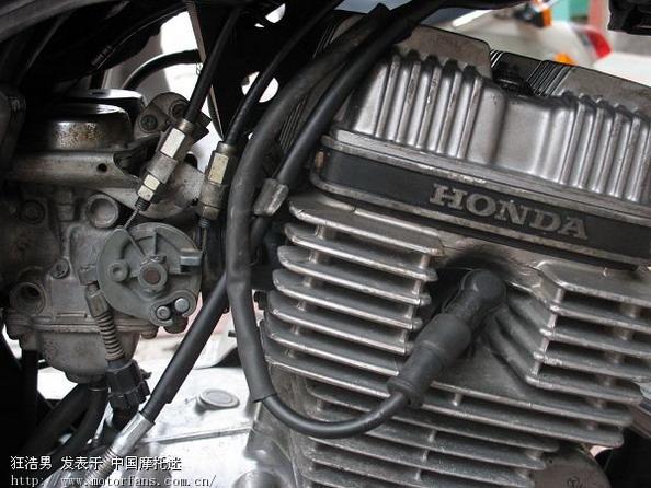 出售本田王cbt125发动机