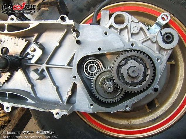 转 济南 轻骑山猫 改装电喷点火减震排气缸体缸头.
