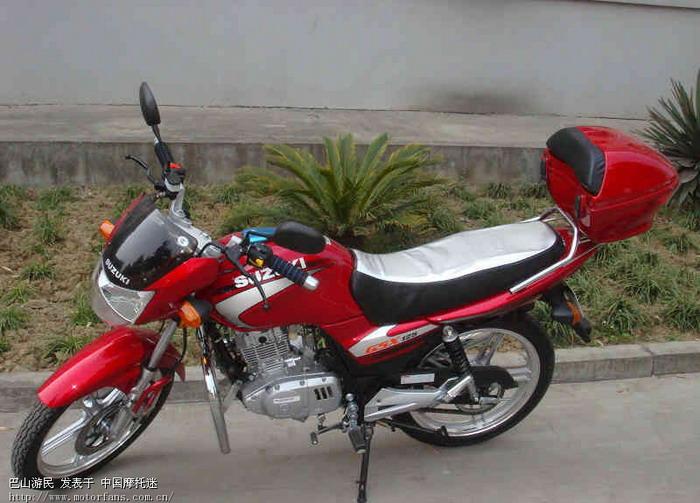 我的爱车gsx125-3b - 济南铃木 - 摩托车论坛 - 中国