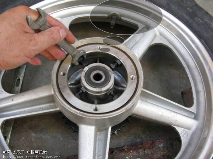 加宽轮胎,改后碟刹 - 维修改装 - 摩托车论坛 - 中