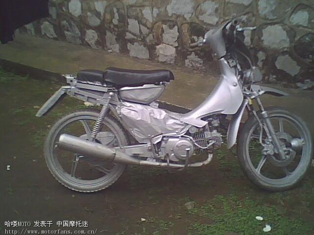 嘉陵110-8 手工打造 - 维修改装 - 摩托车论坛 - 中国