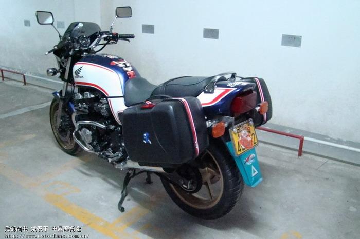 边箱版的CB750 - 天下大排 - 摩托车论坛 - 中国