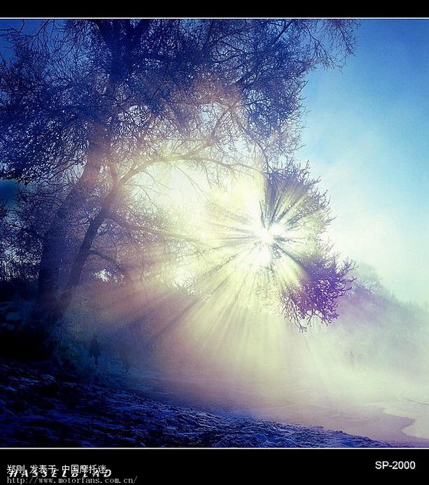 [我的行摄步伐]中国四大自然奇观之吉林雾凇岛