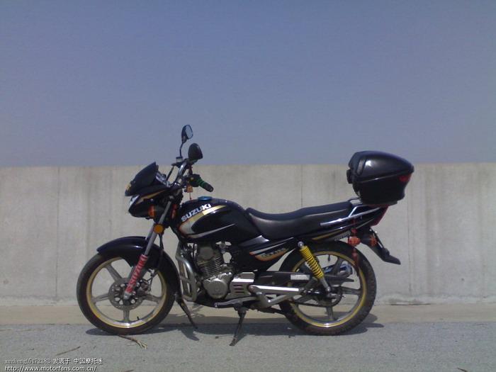 济南铃木摩托车专区 l铃木GT125自己相册,大家置顶