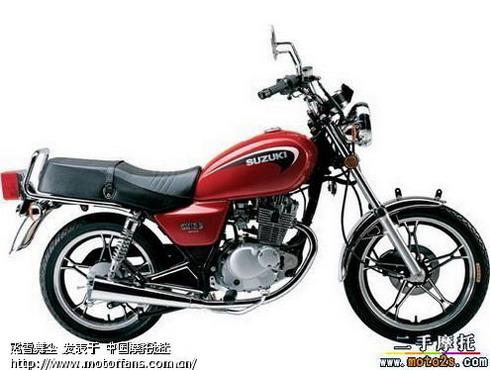 急盼轻骑铃木QS125太子摩托车图片 - 摩托车论