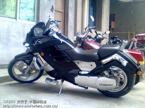 大家看看这款春风水冷摩托车怎么样图片