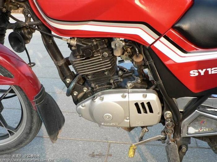 摩托车机头发电电路图 实物