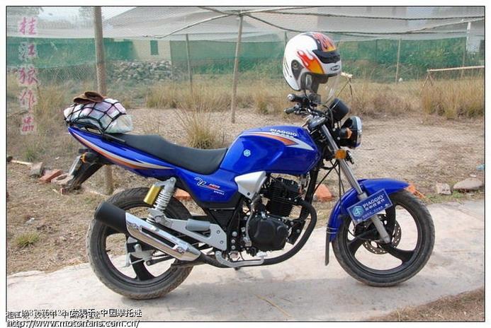 新大洲本田摩托车专题论坛 仿CB的宗申比亚乔150