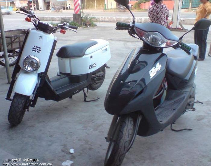 雅马哈踏板摩托车讨论区 梅州第一天价小绵羊高清图片