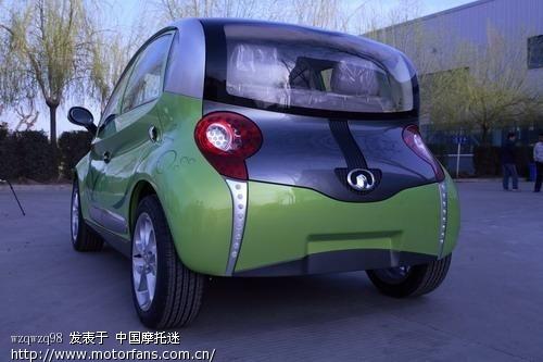 长城电动汽车欧拉2,时速130km 小时,4门4座设计,一次充电续高清图片