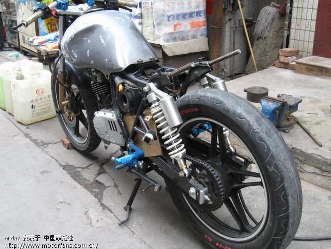 一代钻豹(gs)改en - 维修改装 - 摩托车论坛 - 中国第