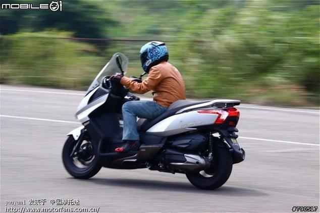 本田踏板摩托车讨论区 KYMCO DOWN TOWN 300i