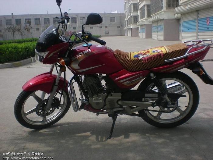 济南铃木摩托车专区 金版GT125是什么样的车啊