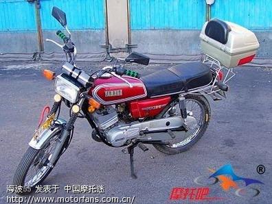 这个车型的南昌飞机制造公司1989年从雅马哈技术引进的rx125.