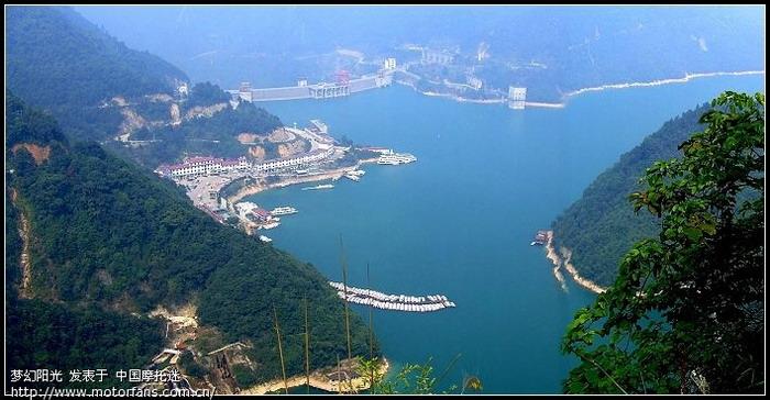 我拍的资兴东江湖风光