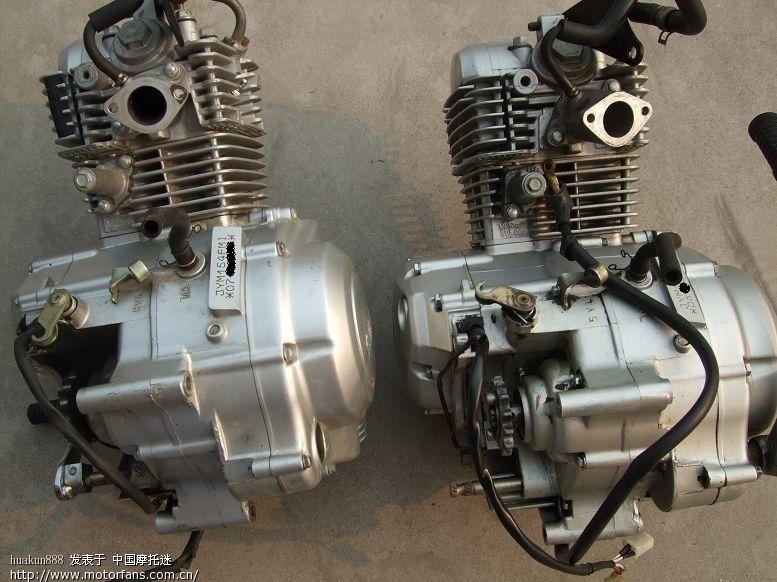 ybr125发动机更换小记-(连环画)