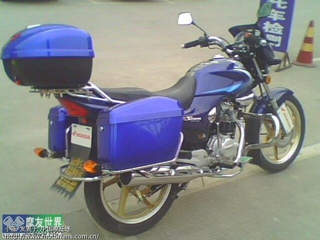 求助金锐箭边箱 - 新大洲本田 - 摩托车论坛 - 中国第
