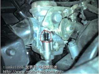 摩托车化油器漏油图解_图解摩托车化油器清洗?