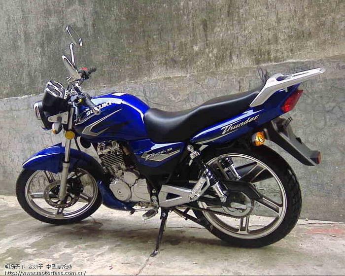 豪爵铃木摩托车专区 en125 3a 后轮轴承磨损 中国第一摩托高清图片