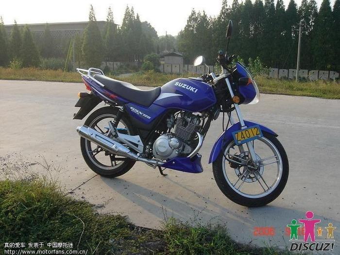 gsx125-3a - 济南铃木 - 摩托车论坛 - 中国第一摩托