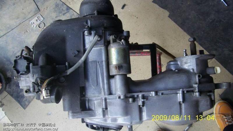 雅马哈踏板车发动机---原装货