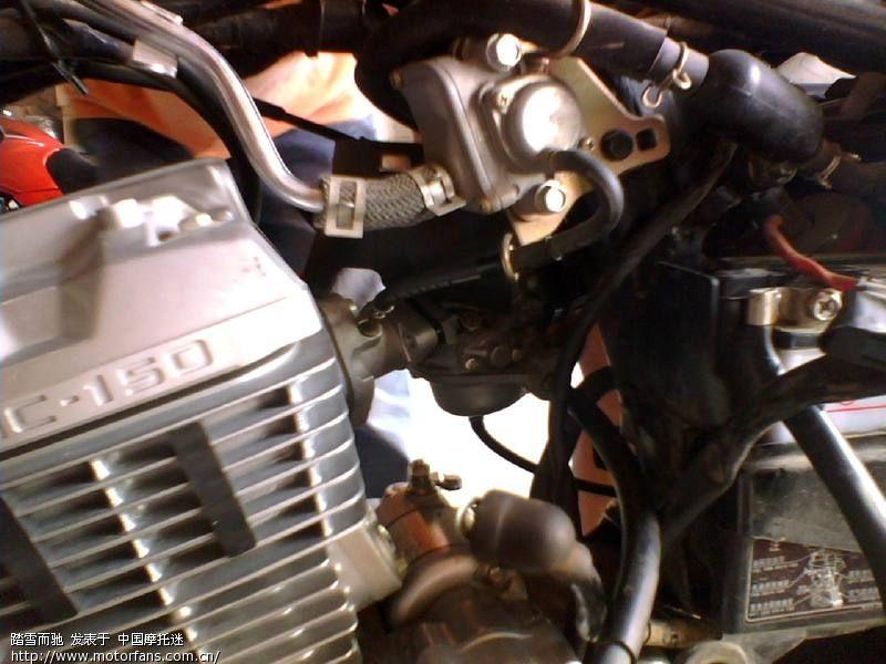 新大洲本田摩托车专题论坛 CBF开膛破肚换环记 9月5日拆马达保养高清图片