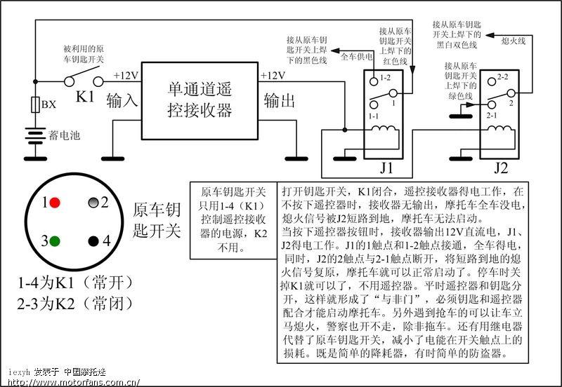 荣威w5防盗线圈电路图
