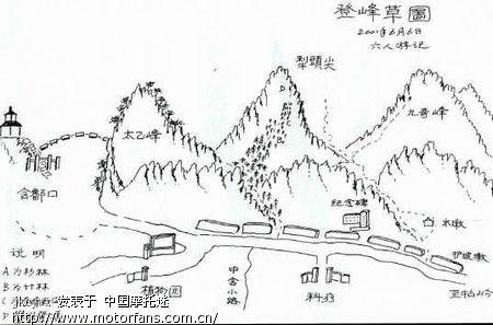 庐山地图大全 - 2009年江西星子聚会专题 - 摩托车