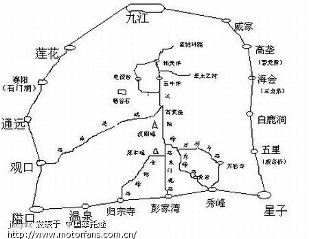 庐山地图大全-2009年江西星子聚会专题-摩托车论坛版