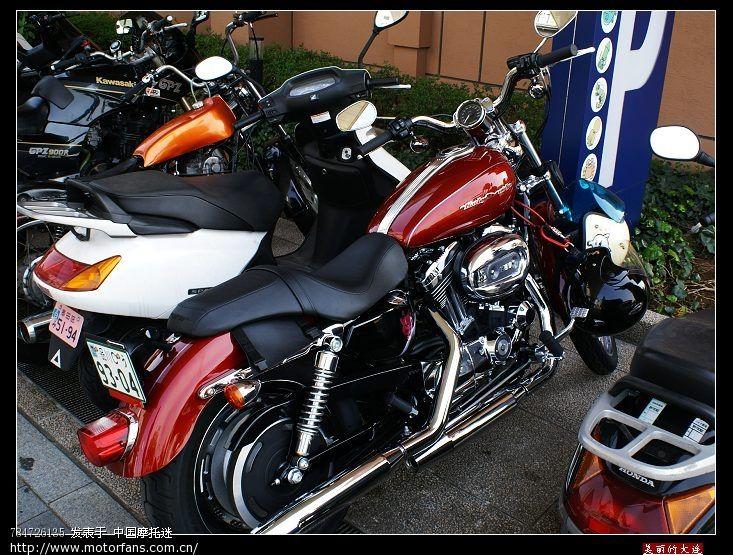 日本街头踏板摩托车