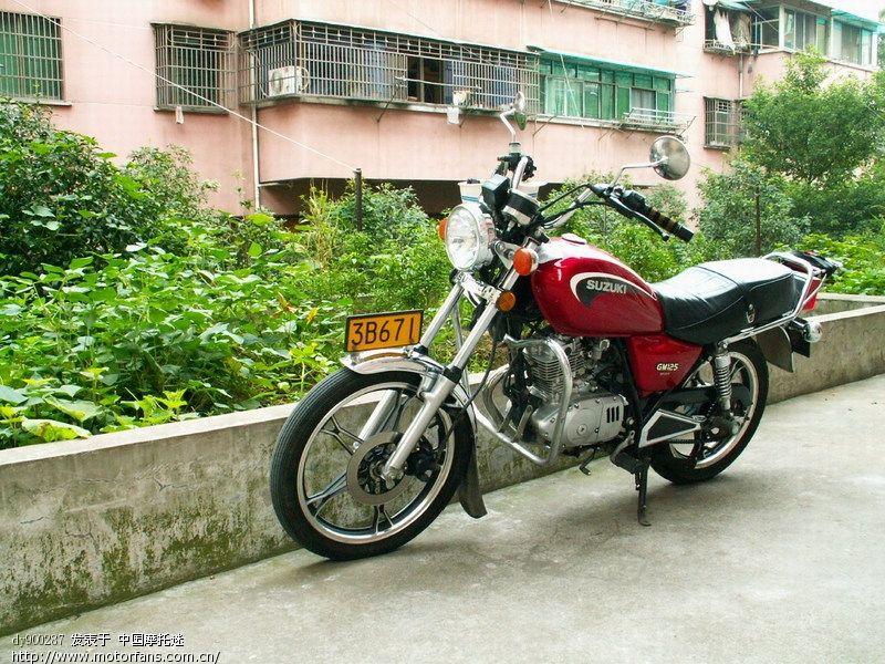 邻居的铃木GM125太子车 - 摩托车论坛 - 摩托车
