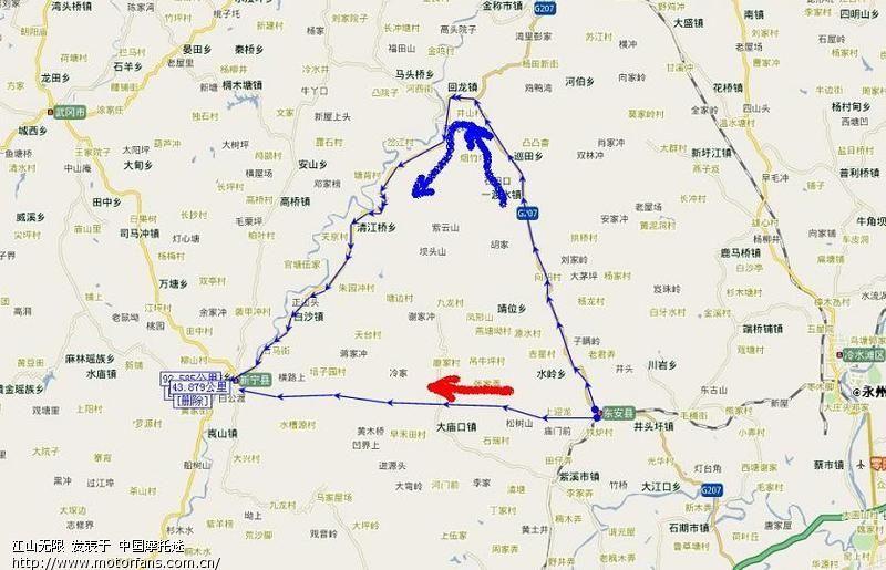 邵阳南山风景区地图