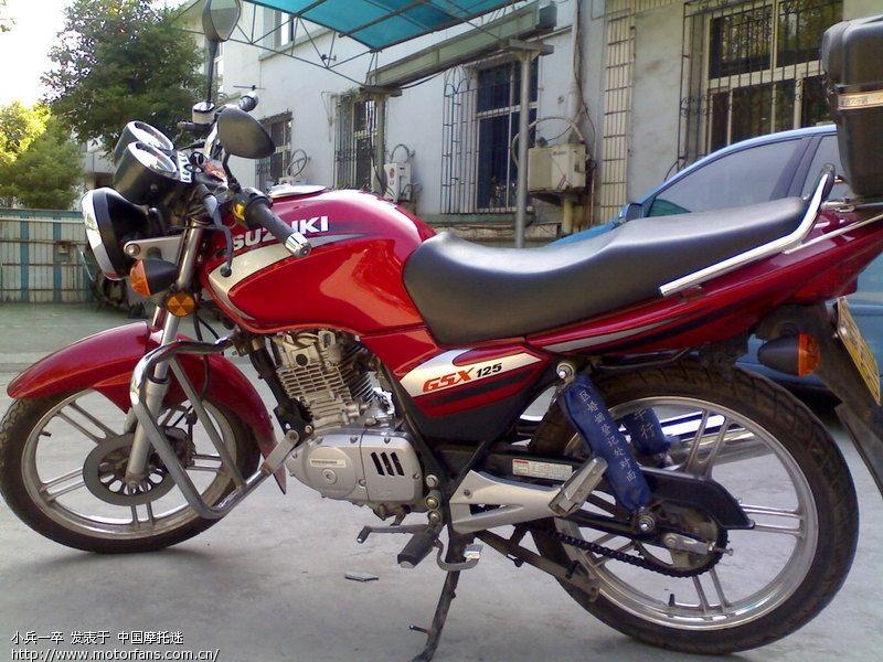 铃木gsx125怎么样_轻骑铃木摩托车官方网站GSX125骏驰-轻骑铃木GSX125摩托车_感人网