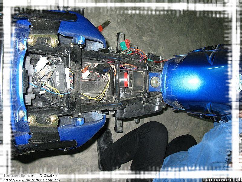 天剑k安装天使恶魔眼透镜灯-雅马哈-摩托车论坛手机