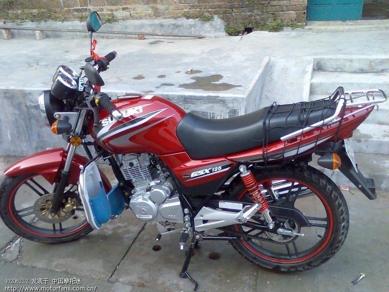 gsx125 3f 800了 - 济南铃木 - 摩托车论坛 - 中国第
